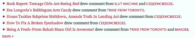 Mouthing Off On Jezebel: Now With More Meta