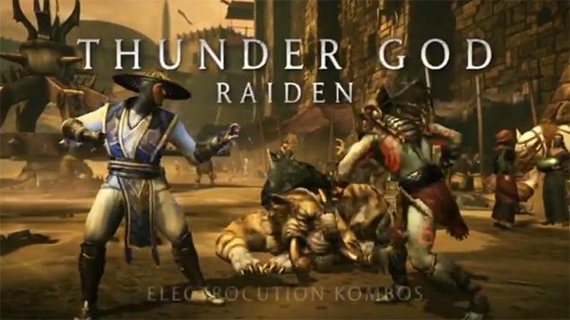 The Thunder God Raiden Returns In Mortal Kombat X