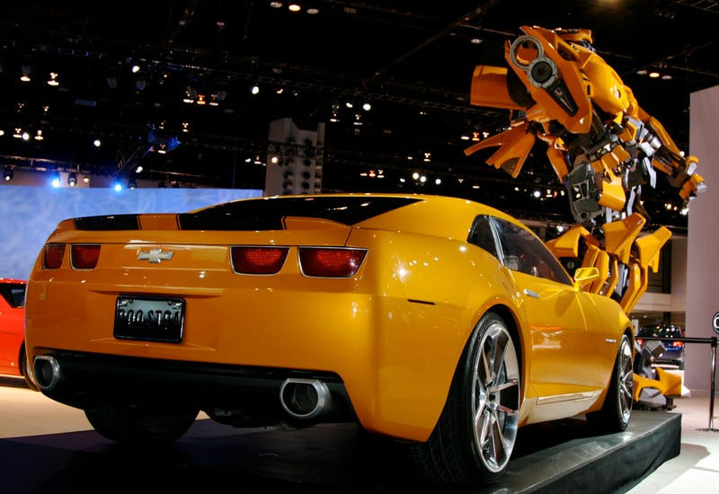 """Bumblebee"" Chevy Camaro Available To Order Starting June 1st"