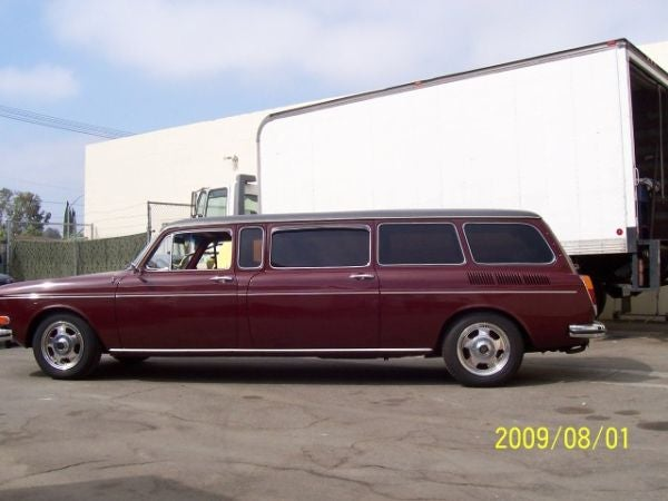 For $12,500, VW Squareback Limo, That Is All