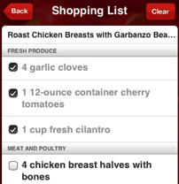 Epicurious App Puts an Entire Cookbook in the Palm of Your Hand