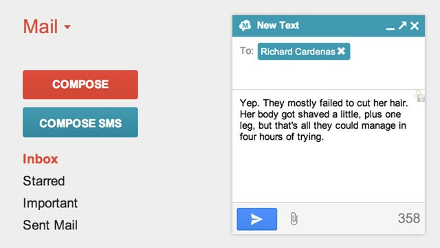 GText Syncs Your Android's Text Messages Directly with Gmail