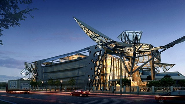 This Actual Corporate HQ Transforms Like an Actual Transformer