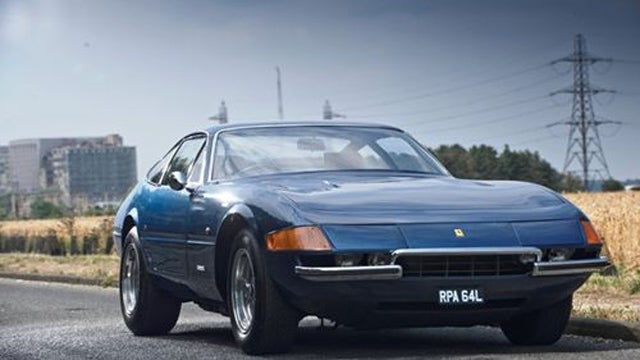 Ferrari Daytona featured on Top Gear goes to auction