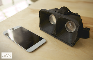 AirVR Wants to Shut Off All Human Contact With an iPad Mini Face-Holder