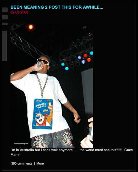Kanye West, Loser Fashion Blogger