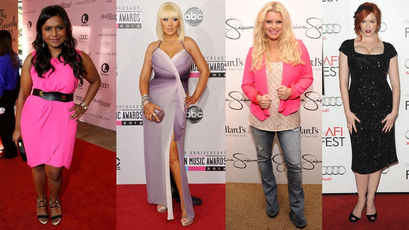 Not Thin? Don't Worry: Being 'Curvy' Is Sorta Kinda Trendy