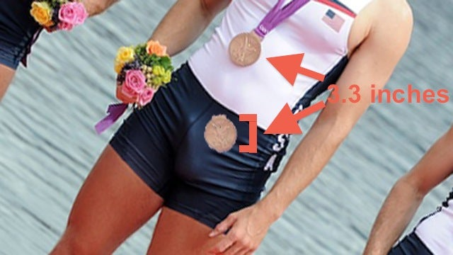 That U.S. Olympic Rower's Cock Is Not Giant: A Photoanalysis