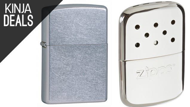 Amazon's Having a Fire Sale on Zippo Products, Plus More Great Deals
