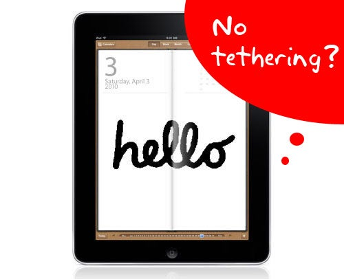 You Won't Be Able To Tether An iPad To An iPhone [Update: Not AT&T's Fault?]