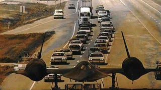 A traffic jam I wouldn't mind so much.