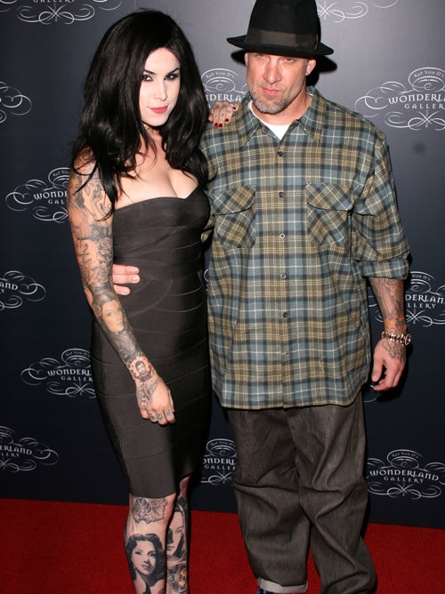 "Kat Von D & Jesse James Are ""In Love"""