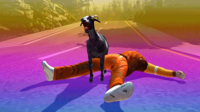 Goat Simulator Does Have A Story, And It's Pretty Dark