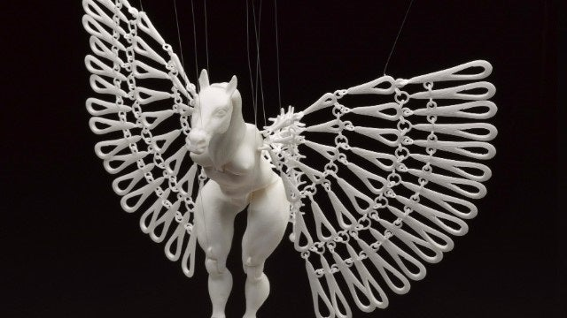 This artwork would be impossible without a 3D printer