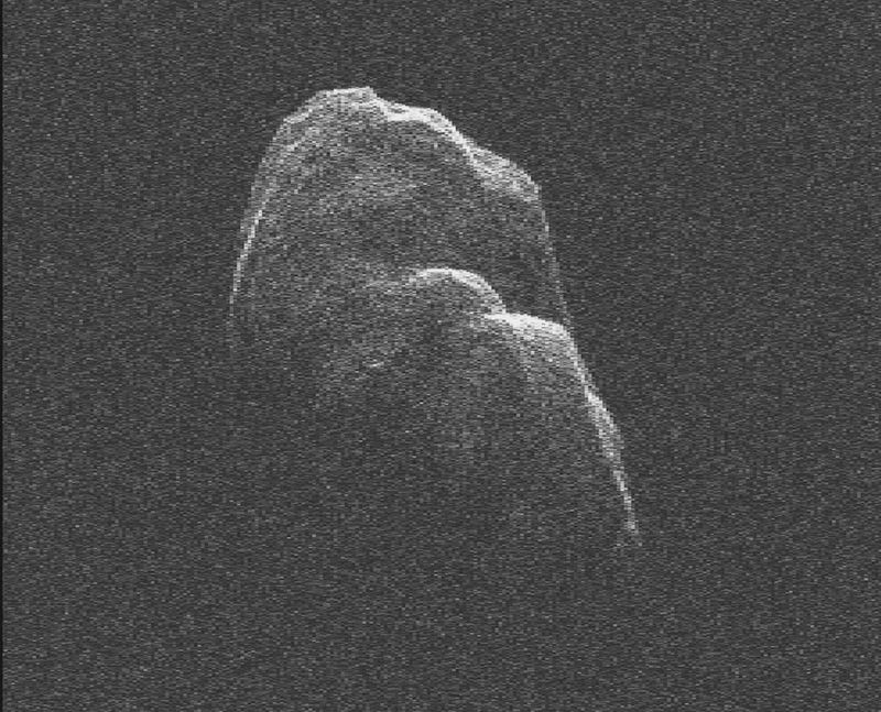 NASA captures ominous video of the three-mile-long asteroid that buzzed us last week