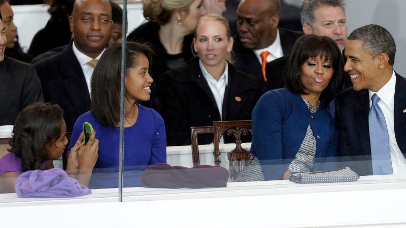 Sasha Obama Takes Stunning Presidential Inauguration Duckface Photo