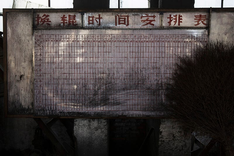 Haunting Photos From an Abandoned Steel Mill in China