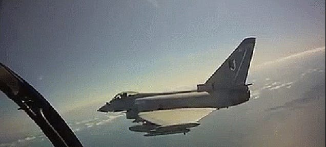 This Is What It's Like To Fly Europe's Most Advanced Fighter Jet