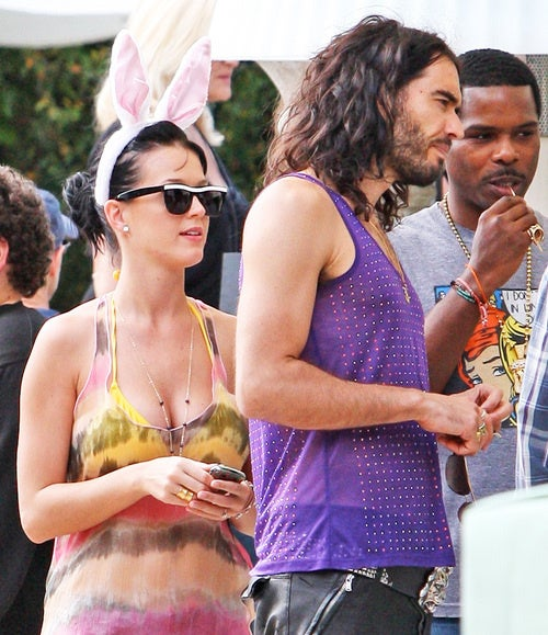 Katy Perry and Russell Brand: Compulsive Wedding Rumor-Mongers
