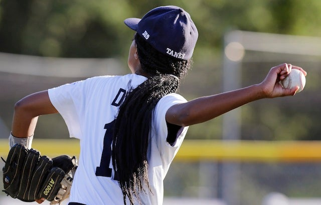13-Year-Old Girl Pitches Shutout To Send Team To LLWS