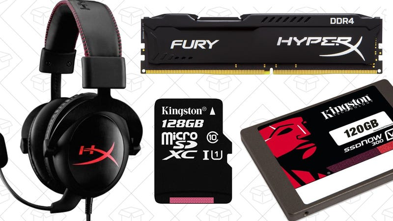 There's a Deal For Everyone In Today's Kingston Gold Box