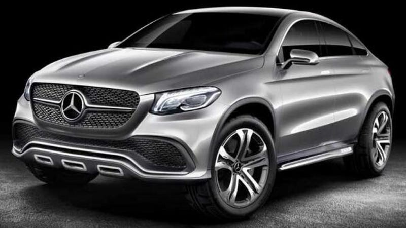 The Mercedes-Benz Concept Coupe SUV Is Another Pointless Coupe SUV