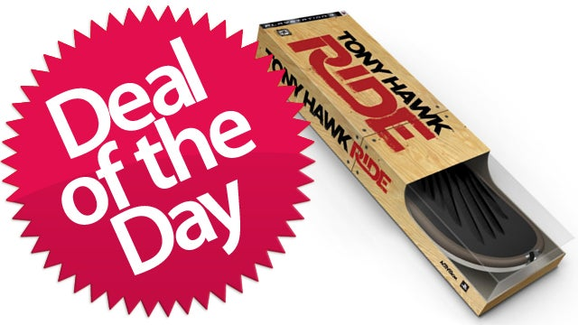 Tony Hawk: Ride Skateboard Bundle Is the Olliefied Deal of the Day