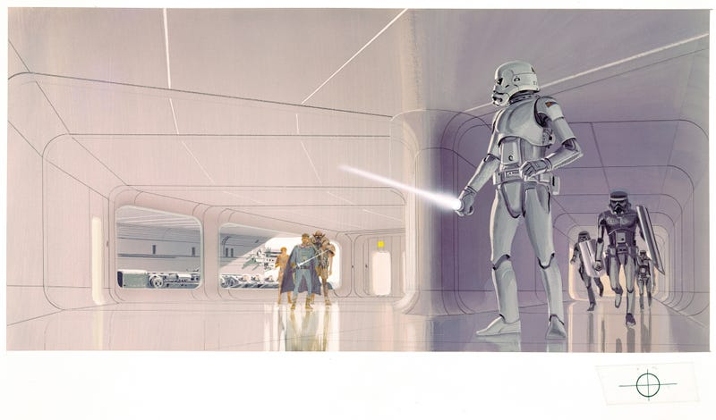 An Exclusive Look at Rare and Never-Before-Seen Star Wars Concept Art