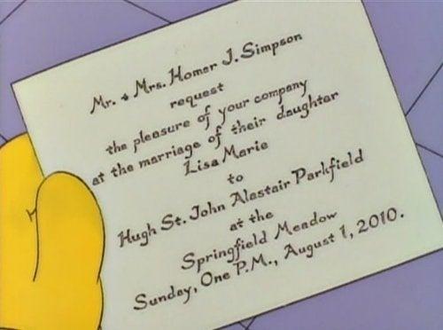 Lisa, It's Your Wedding! Happy Wedding Lisa!