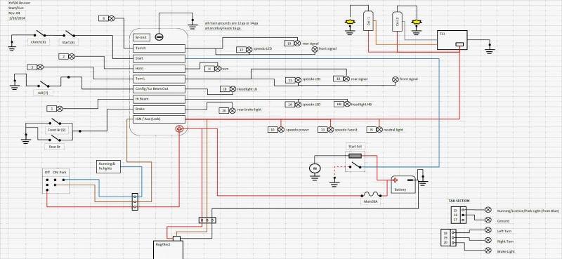 xv 500 wiring diagram xv automotive wiring diagrams description yamaha virago 250 wiring diagram nilza custom 1983 xv500 build recap custom 1983 xv500 build recap