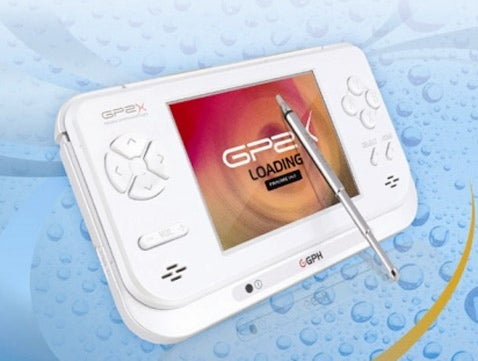 GP2X F-200 Portable Game System has DivX, XviD, and Emulator Support