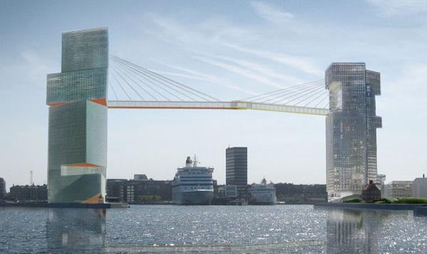 The Copenhagen Gateway Sees Your Dubai and Raises it 65 Meters