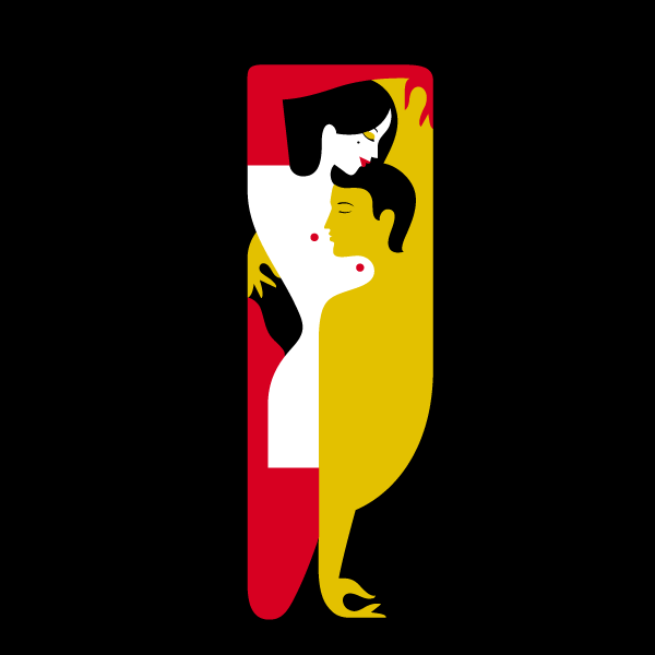 Glorious NSFW Letterforms Inspired by a Recent Translation of the Kama Sutra