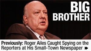 Fox News Chief Roger Ailes Can't Stop Calling the Cops
