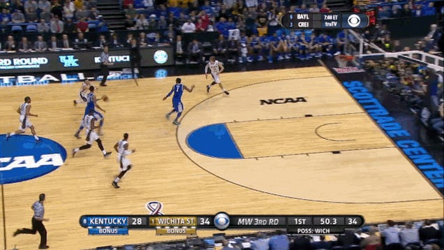 Cleanthony Early Hammers Dunk Over Kentucky