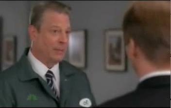 "Al Gore Makes Surprisingly Non-Wooden Appearance on ""30 Rock"""