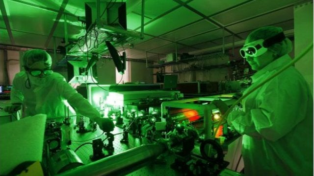 OSU Powers Up a 500 Trillion Watt Laser
