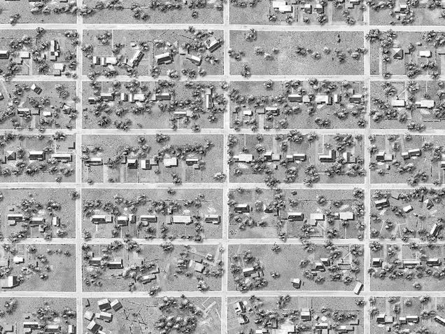 These Intricate Neighborhoods Imagine a Suburban Sprawlpocalypse