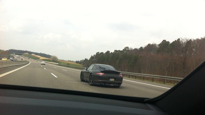 Porsche 991 4/4S Spy Shots