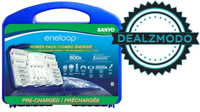 Stock Up On Eneloops And Lightning Cables And Power [Deals]