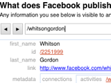 See What Facebook Publicly Publishes About You