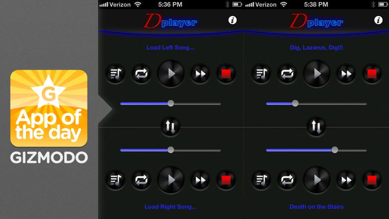 Double Music Player: Two Different Earbuds, Two Different Songs