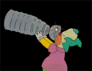 The NHL Threatened The Simpsons Over Krusty Puking In The Stanley Cup