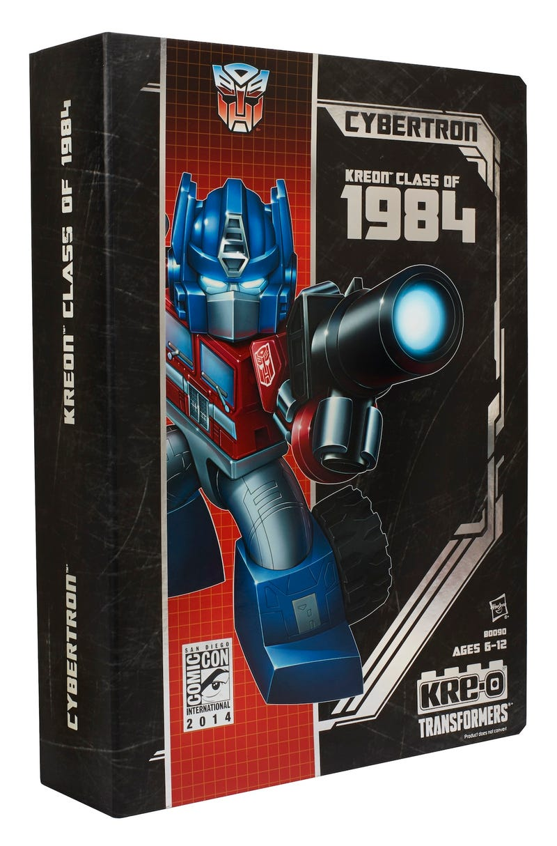 This Comic-Con Exclusive Features Classic Transformers At Their Cutest