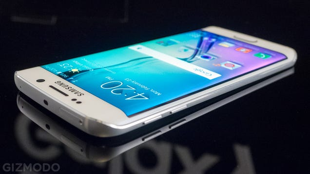 Samsung's Galaxy S6 Edge Is Awesomely Weird But Weirdly Awesome