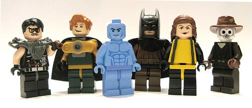 Lego Watchmen Minifigs Are Not Official but They Are Officially Amazing