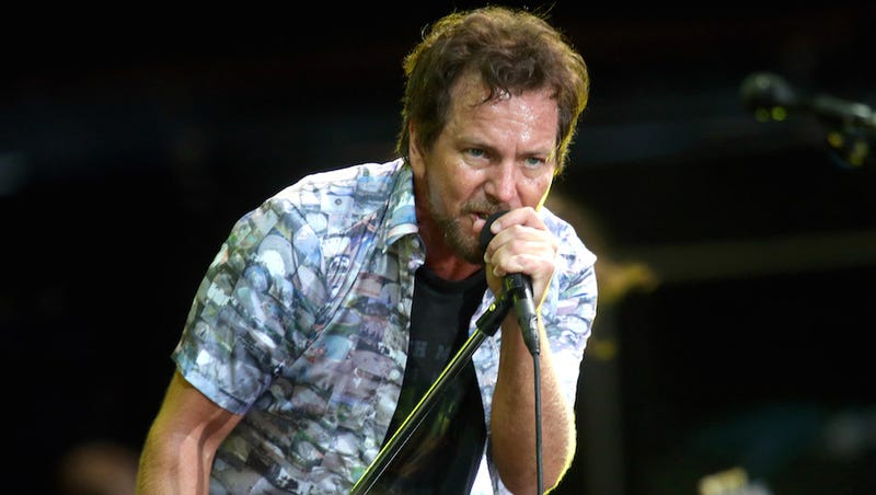 "Watch Pearl Jam Cover Frozen's ""Let It Go"" in Italy"