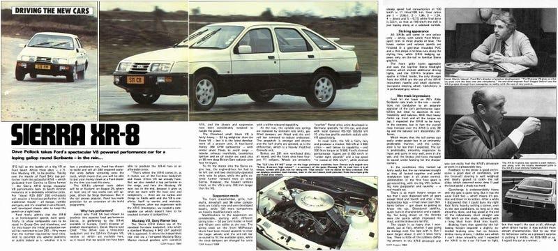 Ford Sierra XR-8 road test