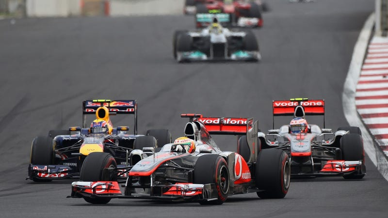 Pictures from the 2011 Korean Grand Prix