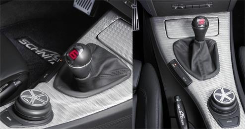 AC Schnitzer Digital Shift Knob Is Happy To See You